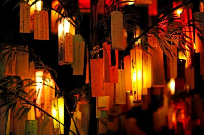 七夕祭りと文房具
